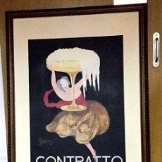 Arte: LEONETTO CAPPIELLO - CONTRATTO - 1922 - COPIA DE ARTISTA PINTADO A MANO - 140CM X 100CM MUY GRANDE. Lote 181992146