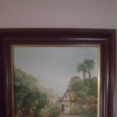 Arte: PRECIOSA PAREJA DE CUADROS DE PINTURA AL OLEO. Lote 181994413
