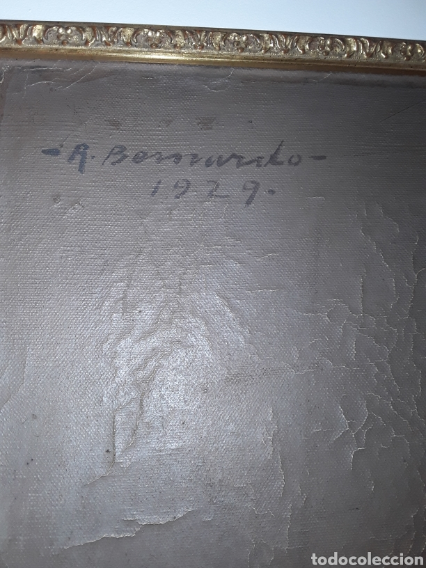 Arte: Oleo de Ricardo Bernardo Veramon 1929 - Foto 2 - 182072323