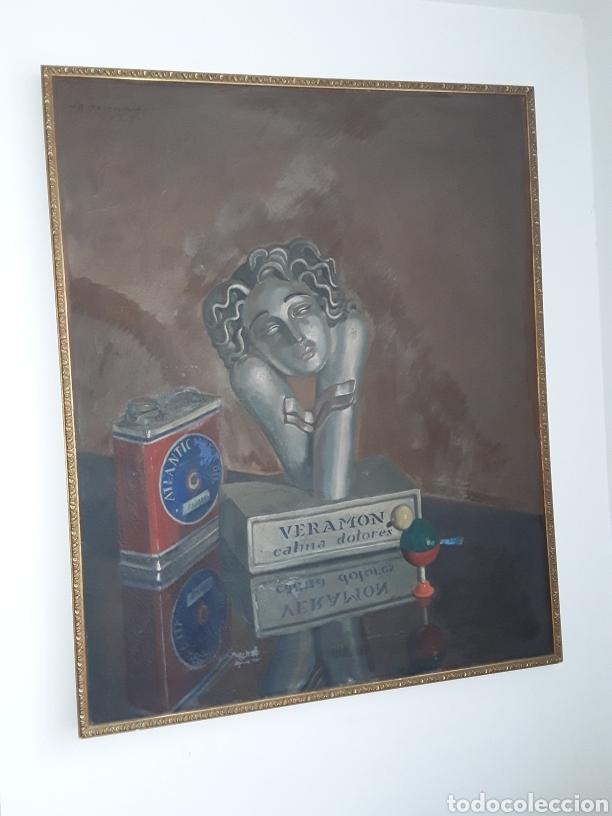 OLEO DE RICARDO BERNARDO VERAMON 1929 (Arte - Pintura - Pintura al Óleo Contemporánea )