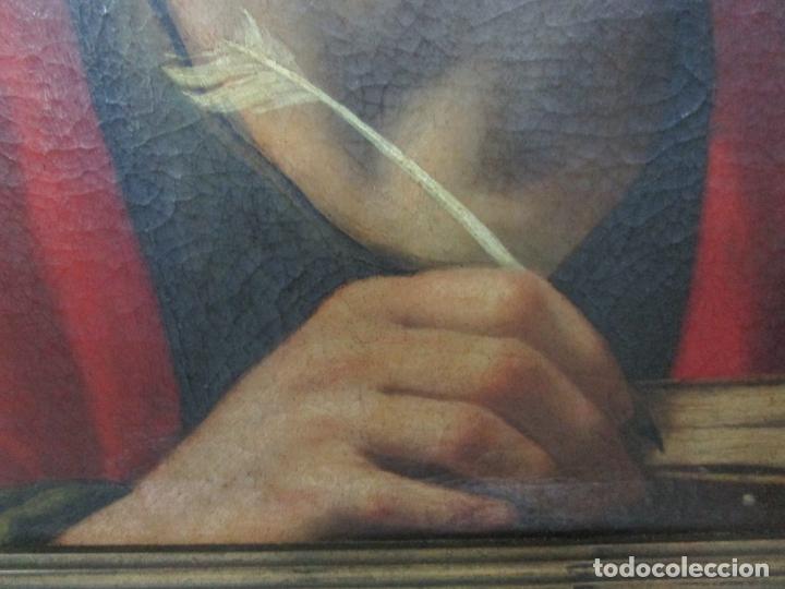 Arte: Matteo Rosseli (Florencia, 1578 -1650) - Pintor Italiano - Óleo sobre Tela - Santa Teresa - Foto 3 - 182136966