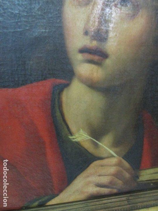 Arte: Matteo Rosseli (Florencia, 1578 -1650) - Pintor Italiano - Óleo sobre Tela - Santa Teresa - Foto 6 - 182136966