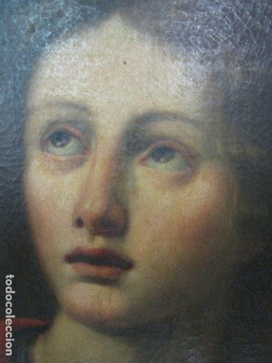 Arte: Matteo Rosseli (Florencia, 1578 -1650) - Pintor Italiano - Óleo sobre Tela - Santa Teresa - Foto 7 - 182136966