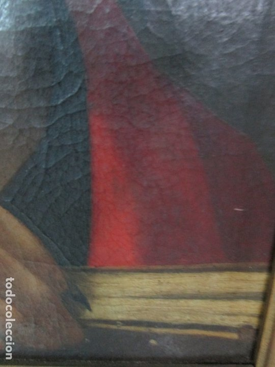 Arte: Matteo Rosseli (Florencia, 1578 -1650) - Pintor Italiano - Óleo sobre Tela - Santa Teresa - Foto 10 - 182136966