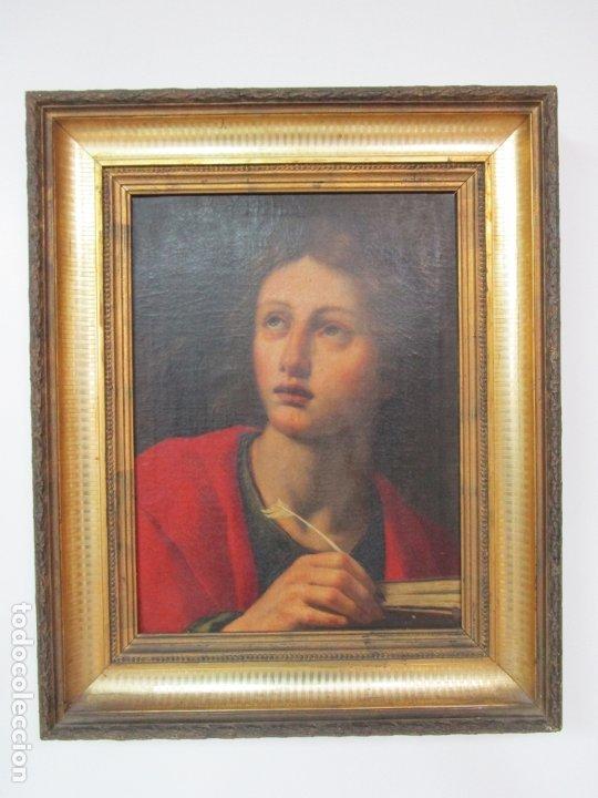 Arte: Matteo Rosseli (Florencia, 1578 -1650) - Pintor Italiano - Óleo sobre Tela - Santa Teresa - Foto 11 - 182136966