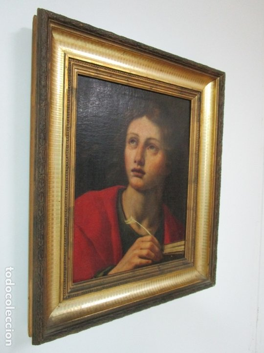 Arte: Matteo Rosseli (Florencia, 1578 -1650) - Pintor Italiano - Óleo sobre Tela - Santa Teresa - Foto 12 - 182136966