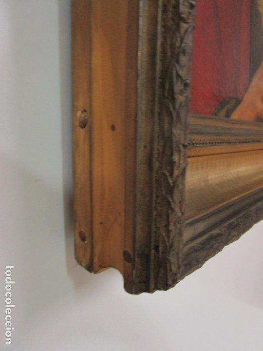 Arte: Matteo Rosseli (Florencia, 1578 -1650) - Pintor Italiano - Óleo sobre Tela - Santa Teresa - Foto 15 - 182136966