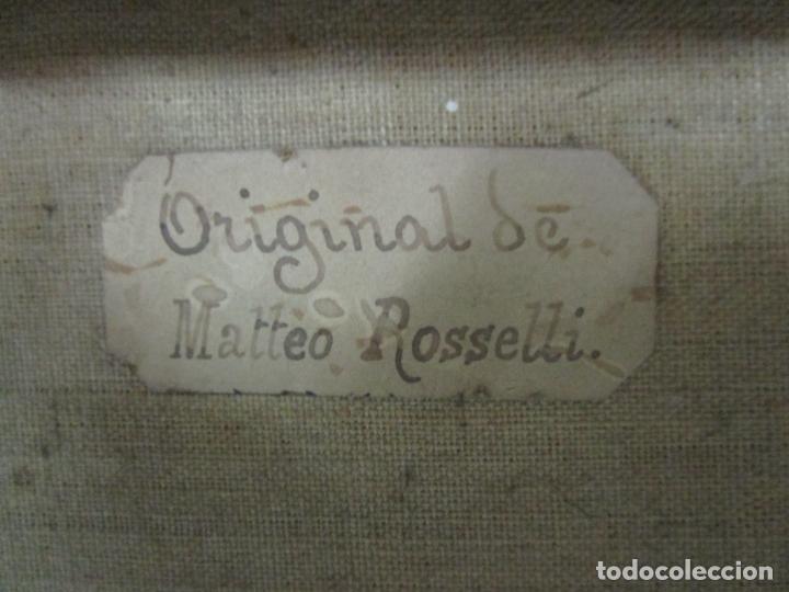 Arte: Matteo Rosseli (Florencia, 1578 -1650) - Pintor Italiano - Óleo sobre Tela - Santa Teresa - Foto 17 - 182136966