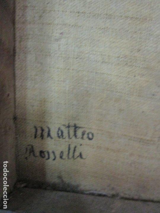 Arte: Matteo Rosseli (Florencia, 1578 -1650) - Pintor Italiano - Óleo sobre Tela - Santa Teresa - Foto 18 - 182136966