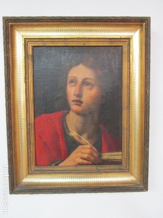 Arte: Matteo Rosseli (Florencia, 1578 -1650) - Pintor Italiano - Óleo sobre Tela - Santa Teresa - Foto 19 - 182136966
