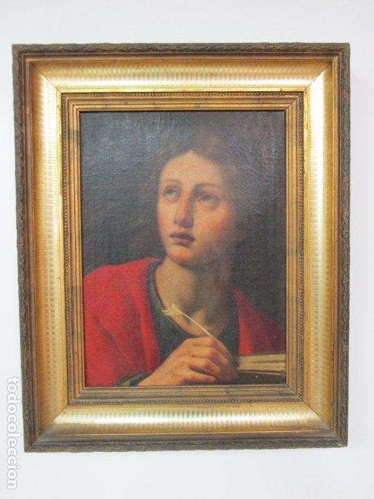 MATTEO ROSSELI (FLORENCIA, 1578 -1650) - PINTOR ITALIANO - ÓLEO SOBRE TELA - SANTA TERESA (Arte - Pintura - Pintura al Óleo Antigua siglo XVII)