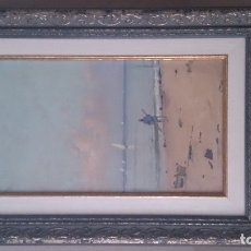 Arte: SEGUNDO MATILLA (ÓLEO SOBRE TABLEX)40X15CTMS FIRMADO. Lote 182172502