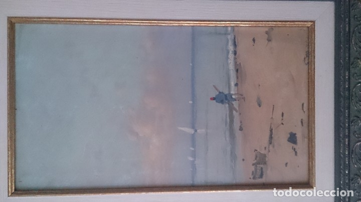 Arte: Segundo MATILLA (óleo sobre tablex)40x15ctms firmado - Foto 9 - 182172502