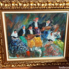 Art: COLL BARDOLET - MÚSICOS -. Lote 176671728