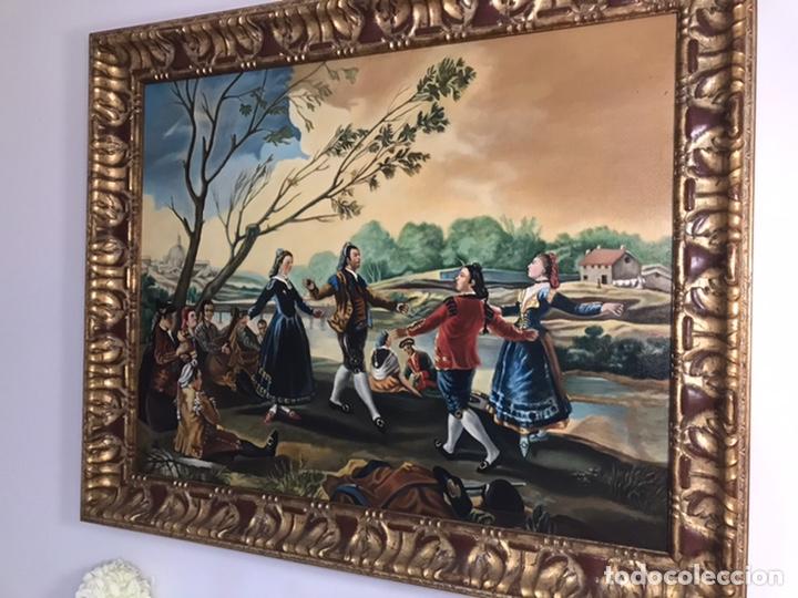 OLEO SOBRE LIENZO (Arte - Pintura - Pintura al Óleo Antigua siglo XVIII)