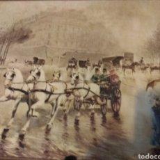 Arte: PINTURA SOBRE MADERA. Lote 182226808