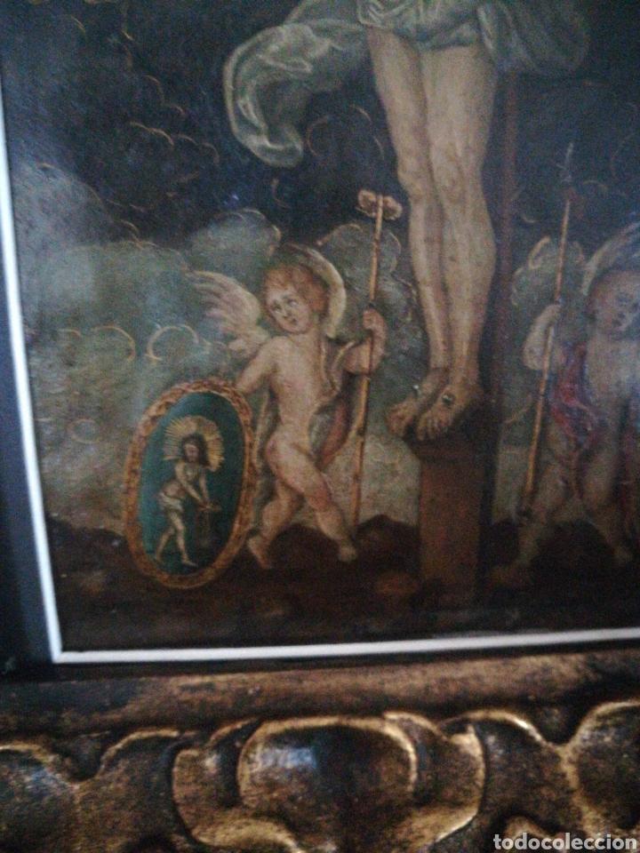 Arte: Óleo sobre cobre. Escuela Colonial del XVII - Foto 2 - 182256735