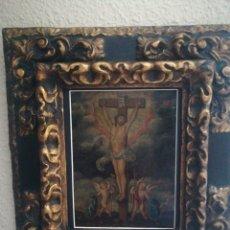 Arte: ÓLEO SOBRE COBRE. ESCUELA COLONIAL DEL XVII. Lote 182256735