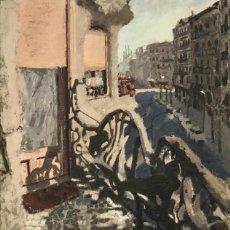 Arte: JOSEP ROCA-SASTRE - PINTURA AL ÓLEO -. Lote 182261207