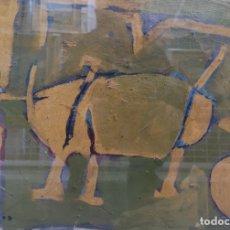 Arte: CABANAS, XAIME (A CORUÑA, 1953 - 2013) SIN TÍTULO. TÉCNICA MIXTA SOBRE PAPEL. Lote 182368468