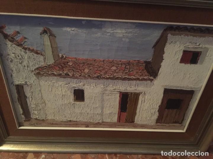 CUADRO DEL PINTOR VIÑES PEREZ , OLEO SOBRE LIENZO (Arte - Pintura - Pintura al Óleo Contemporánea )