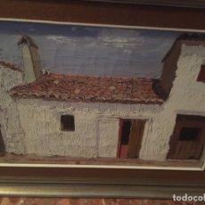 Arte: CUADRO DEL PINTOR VIÑES PEREZ , OLEO SOBRE LIENZO. Lote 182376417