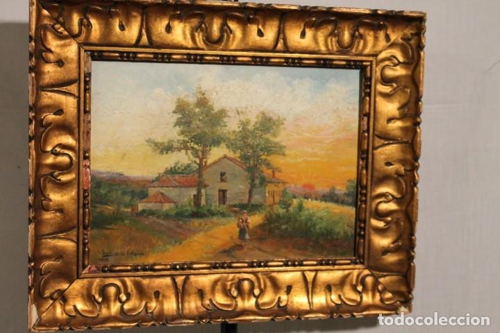 PAISAJE DE J. RODRIGUEZ SALGADO 1919, (Arte - Pintura Directa del Autor)