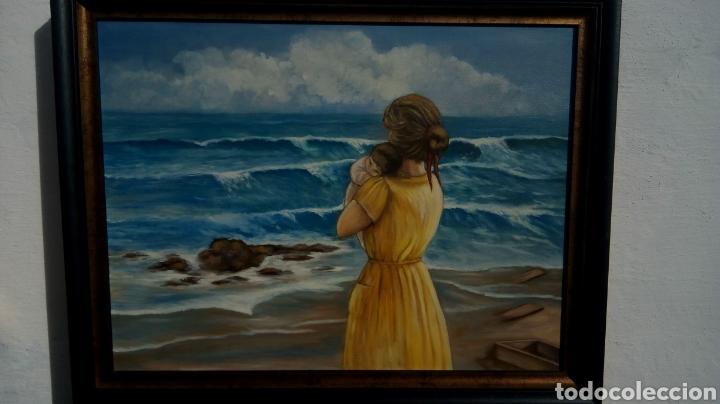 Arte: Cuadro pintado al óleo - Foto 2 - 182380335