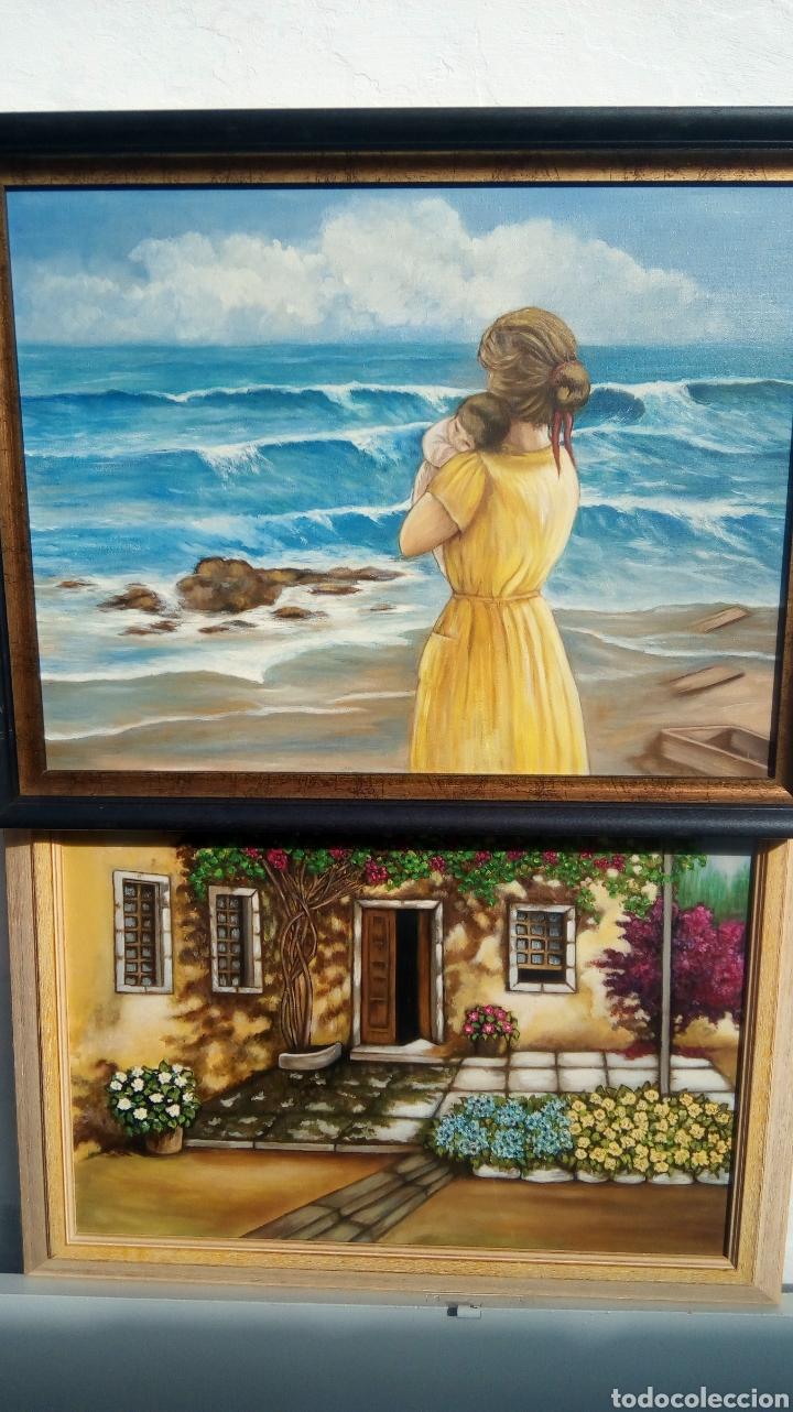 Arte: Cuadro pintado al óleo - Foto 3 - 182380335