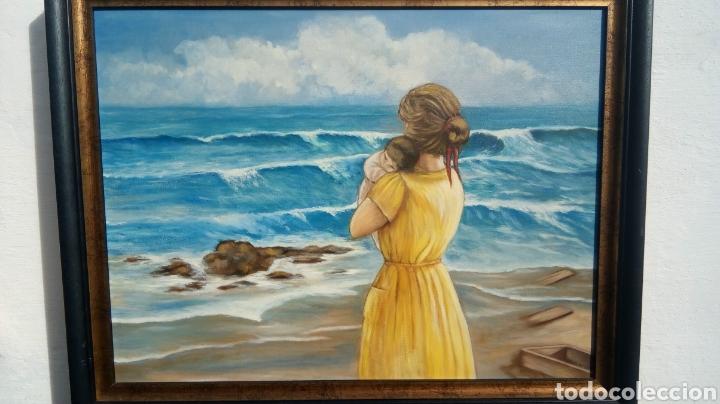 Arte: Cuadro pintado al óleo - Foto 4 - 182380335