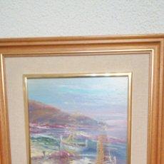 Arte: ANTIGUO CUADRO PINTADO AL ÓLEO SOBRE TABLA ENMARCADO.. Lote 182401941
