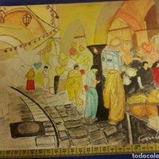 Arte: PRECIOSO OLEO CUADRO FIRMADO CARLIN. Lote 182421551