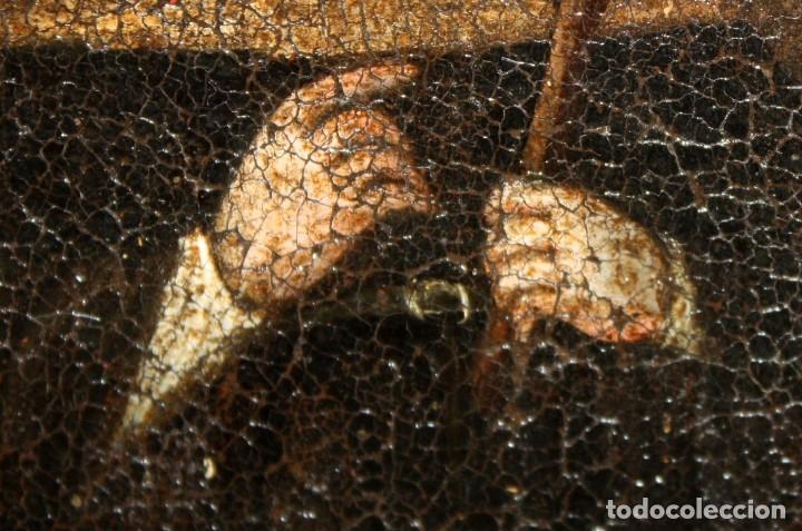 Arte: SANTA MONICA DE LIMA - 1685 - OLEO TELA. - Foto 7 - 182434556