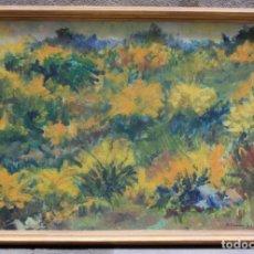 Arte: MIQUEL DURAN (1939), PAISAJE, 1977, PINTURA AL ÓLEO SOBRE TELA, FIRMADO, CON MARCO. 79X52,5CM. Lote 182465488