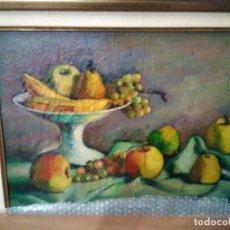 Arte: BODEGÓN DE FRUTA. Lote 182509071