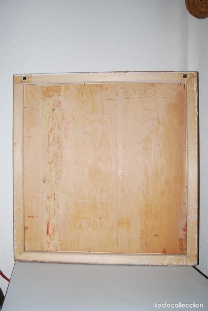 Arte: ÓLEO SOBRE TABLA - PAISAJE CON CASAS - ANA MARÍA DE LA COTERA - Foto 14 - 182591238