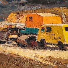 Arte: MARTINEZ LOZANO - MARINA DE LLANÇÀ 1975. Lote 182593312