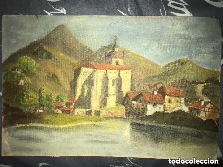 ANTIGUA PINTURA PAISAJE AL ÓLEO - PRINCIPIOS SIGLO XX (Arte - Pintura - Pintura al Óleo Antigua sin fecha definida)