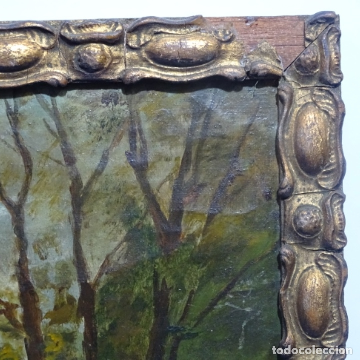 Arte: Óleo sobre tela firmado eulalia font.finales sxix principios s.xx. - Foto 14 - 182643836