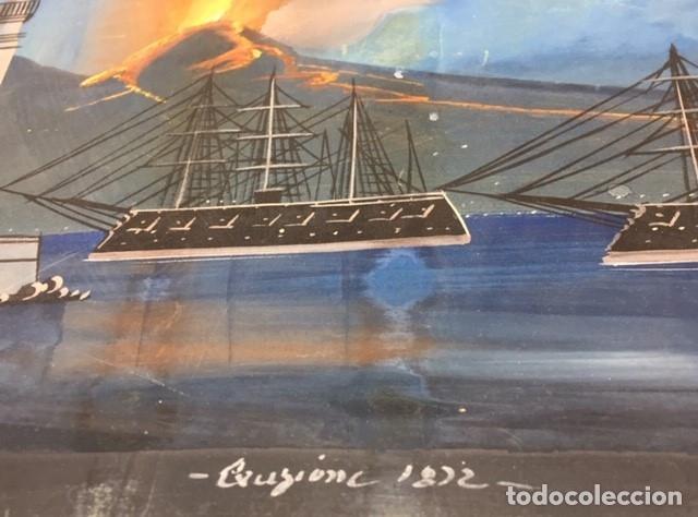 Arte: TITULADO ERUZIONE-FIRMADO-FECHADO 1.822 - Foto 7 - 56320077