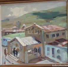 Arte: MARTÍNEZ LOZANO, ( 1923 - 2006 ) PINTOR UN OLEO SOBRE TABLA// PERFECTO //. Lote 182666990