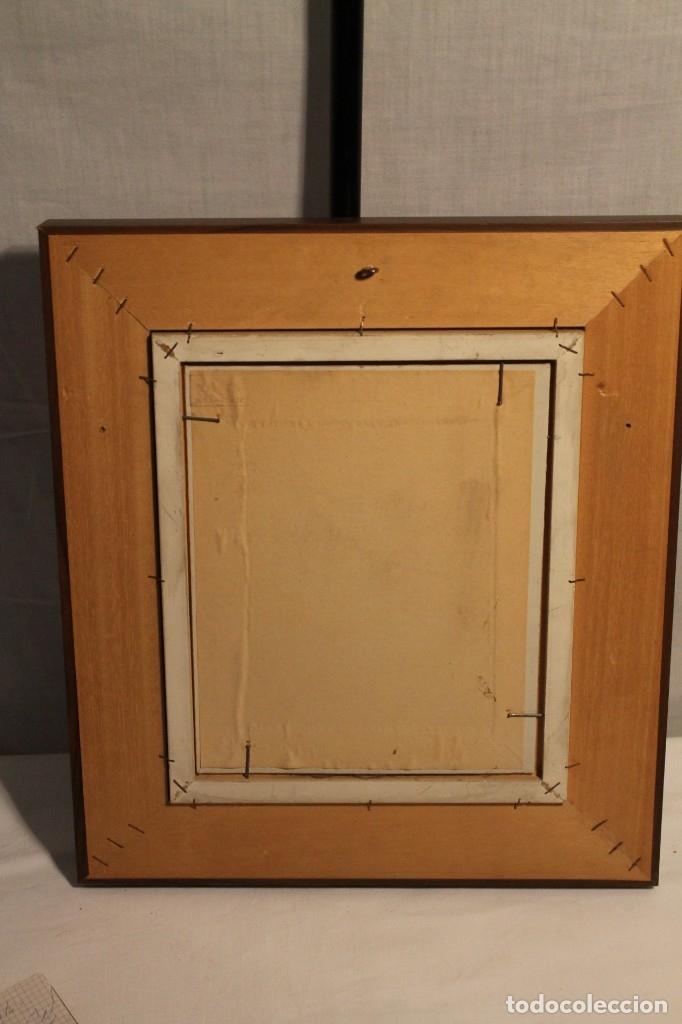 Arte: J. A, FIESTRAS, ÓLEO TABLEX 1977, - Foto 3 - 182675357
