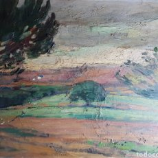 Arte: PAISAJE POR OLEGUER JUNYENT SANS (1876-1956). Lote 182680647