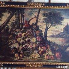 Arte: SIGLO XVIII ,BODEGÓN DE ESCUELA EUROPEA FINALES SIGLO XVIII -MEDIDA 95X75CM. Lote 182708045