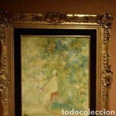 Arte: OLEO SOBRE LIENZO DEL PINTOR VALENCIANO LUIGI -- AÑOS 90 (60X51 CM) ÓLEO SOBRE LIENZO. Lote 182737665