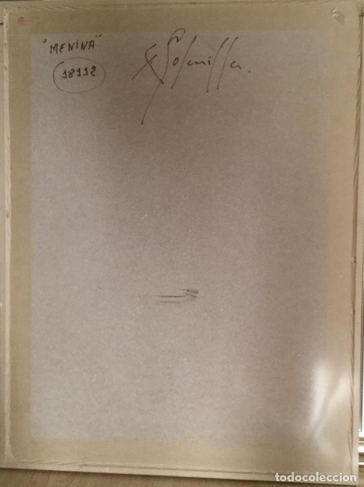 Arte: ENRIC PERÉ SOLANILLA ( Olot 1963) MENINA de gran formato - Foto 17 - 182767657