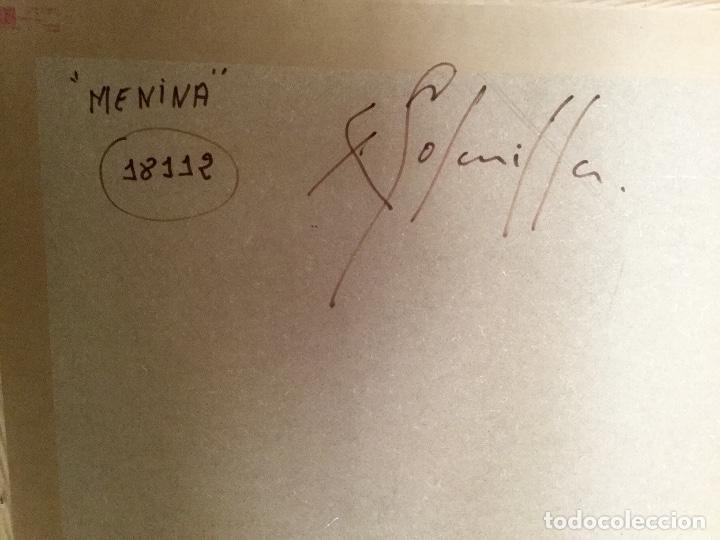 Arte: ENRIC PERÉ SOLANILLA ( Olot 1963) MENINA de gran formato - Foto 18 - 182767657
