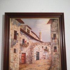 Arte: ANTIGUO CUADRO PINTURA SOBRE LIENZO. Lote 182785597