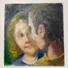 Arte: MANUEL MINGORANCE ACIEN , ÓLEO SOBRE CARTÓN , MÁLAGA. Lote 182945470