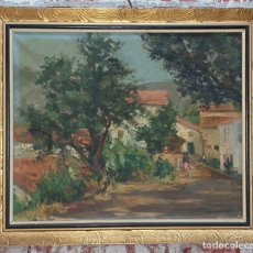 Arte: OLEO SOBRE LIENZO FIRMADO. Lote 182952372
